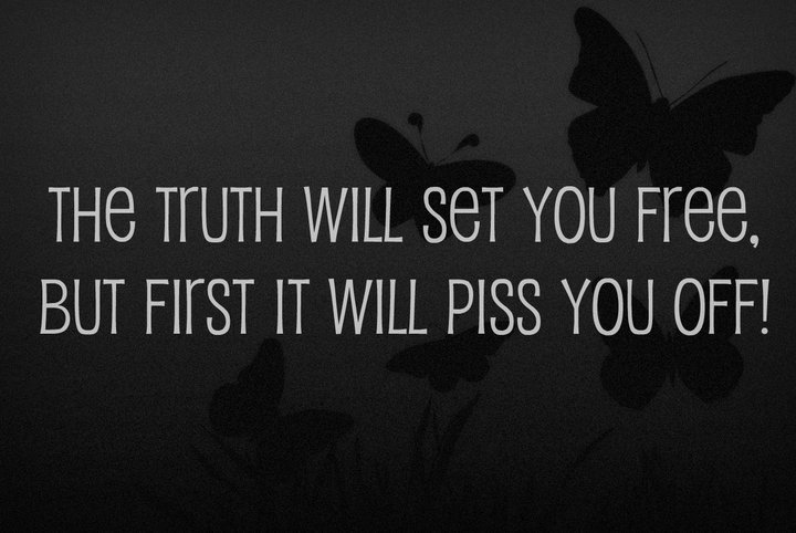 Pamela Leigh Richards » The Truth Will Set You Free But First
