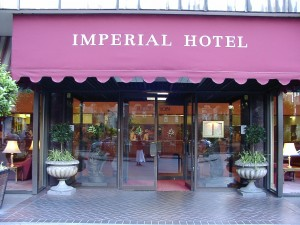 Imperial Hotel Goddesses Either Side
