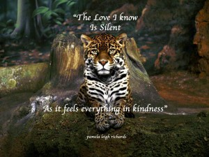Wild Beautiful Tree Leopard forest pamela quote