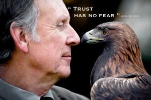 Man Eagle Eye to Eye Trust pamela quote