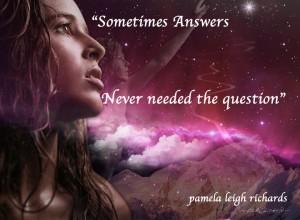 Girl Pink Universe Mountains pamela quote