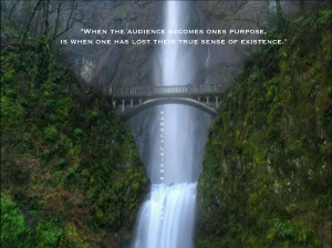 Pamela quote Waterfall