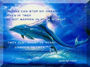Dolphin and Mermaid Pamela quote
