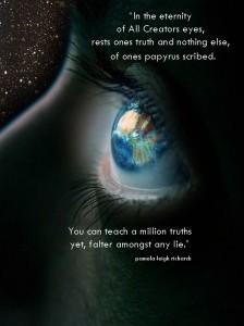 Eye World Cosmos pamela quote
