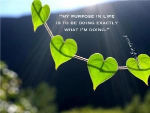Leaf Heart Pamela quote