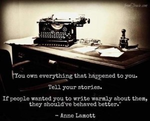 Quote Sharing your story