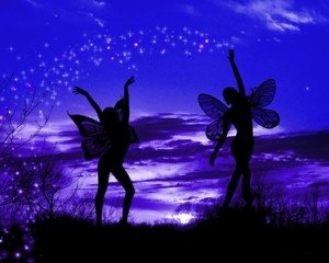 Two Fairies Night Wings