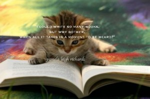Cat book pamela quote