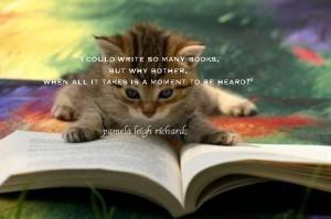 Cat book pamela quote