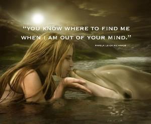 Dolphin-Kiss Sun Pamela
