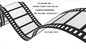 Movie Reel Strip Pamela Quote