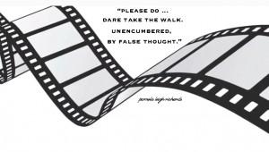 Movie Reel Strip Pamela Quote