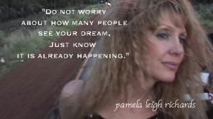 Pamela quote Dreams