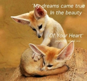 Pamela quote Foxes Heart Touch 2010