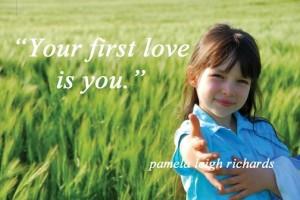 Pamela quote Girl Green Meadow