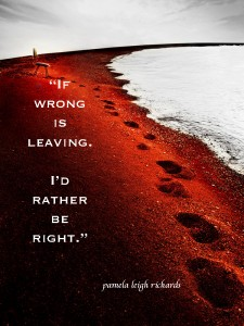 Pamela quote Steps to Right