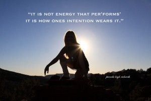 Pamela quote energy wearing