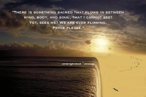 Water Fall Flying Pamela quote