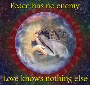 pamela Dolphin Kiss Peace