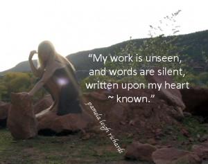 Red Rock Garden Sun Pamela Quote