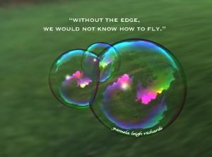Soap bubble Pamela quote