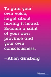 AlanGinsberg quote