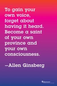 AlanGinsberg quote