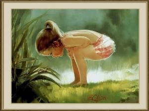 Girl Catapillar- Donald Zolan
