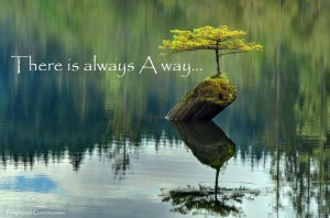 There is always a way …