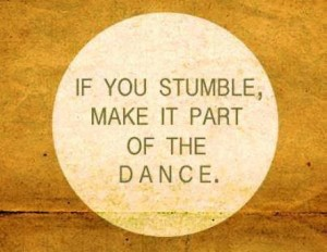 Quote If you stumble