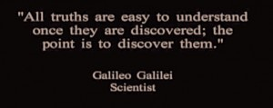 Galileo quote Truths
