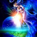 Lady Peace Bubble Earth