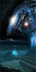 Universe Stairs Ocean