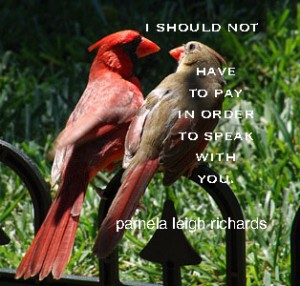 Birds two in speak pamela quote