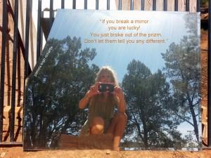 Pamela Mirror Quote