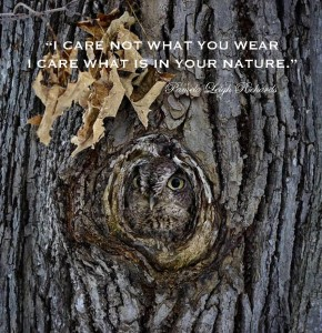 Pamela quote Owl and Tree