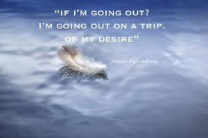 White Feather Pamela quote