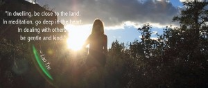 Pamela Red Rocks Sun 9 edit Lao Tsu quote