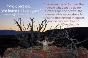 Pamela Sedona quote einstein trees 3