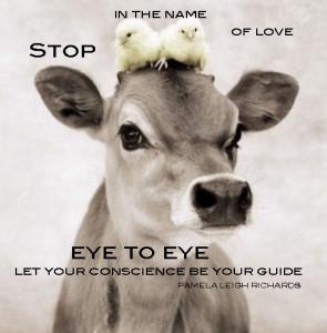 Cow chicks Pamela quote