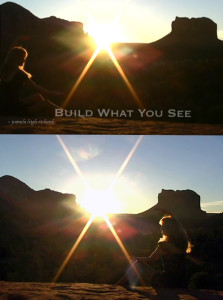 Pamela Sun Build What You See collage