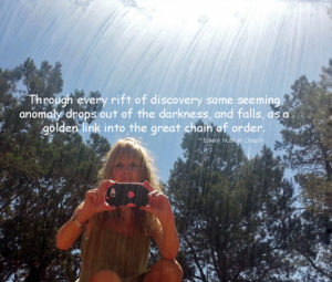 Pamela Leigh Richards photography.Redstone Mirror Hubbel quote2